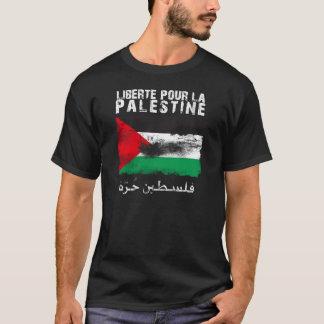 T-shirt Liberté versent la La Palestine (le hurra de