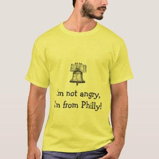 T-shirt liberty-bell-3, je ne suis pas fâché, je suis de