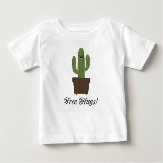 T-shirt libre de bébé des étreintes | de cactus