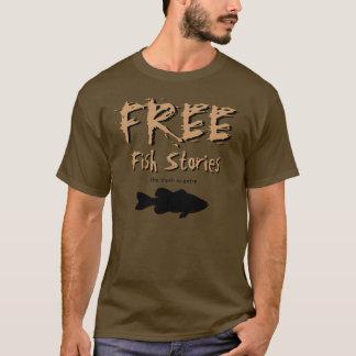 T-shirt libre d'histoires de poissons
