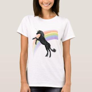 T-shirt Licorne d'arc-en-ciel