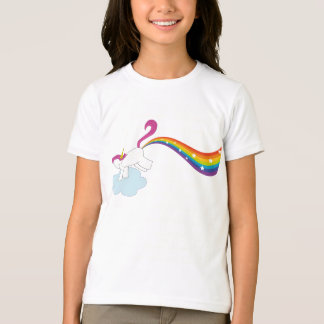 T-shirt Licorne de l'arc-en-ciel de Rhiannon