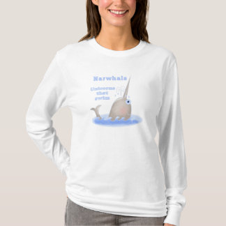 T-shirt Licorne de Narwhal