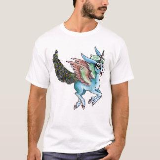 T-shirt Licorne de paon