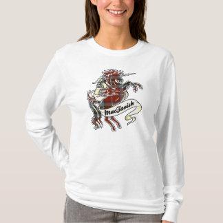 T-shirt Licorne de tartan de MacTavish