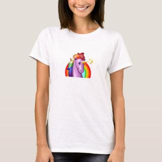 T-shirt Licorne et arc-en-ciel