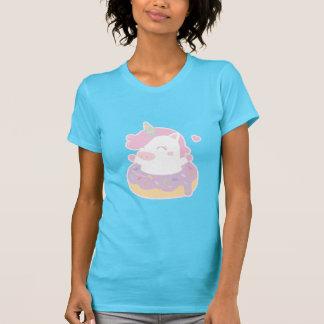 T-shirt Licorne potelée mignonne dans la pièce en t douce