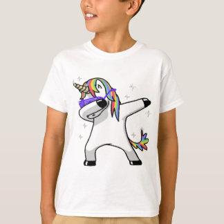 T-shirt Licorne tamponnante