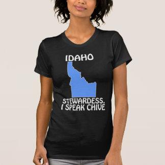 T-shirt L'Idaho - hôtesse, je parle la ciboulette