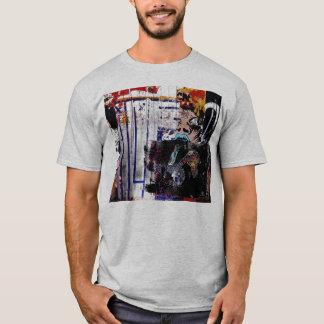 T-shirt ligne chemise du graffiti de Jacob