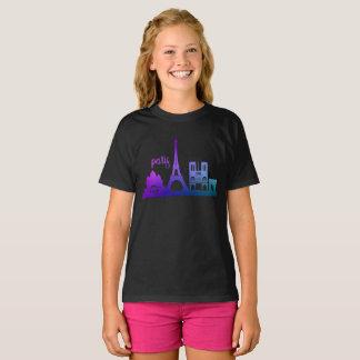 T-shirt ligne de ciel de Paris