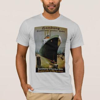 T-shirt Ligne de Hambourg-Amerika