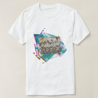 T-shirt Ligne de piège de corps de tambour et de bugle de