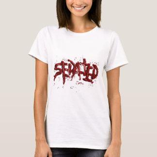 T-shirt Ligne donnée des sédatifs d'éclaboussure