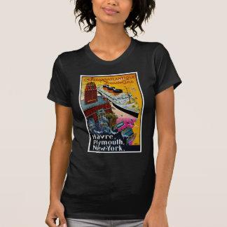 T-shirt Ligne française transatlantique