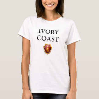 T-shirt Lignes CÔTE D'IVOIRE W sublime d'héritage de