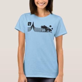 T-shirt Lignes de paume de Caribea