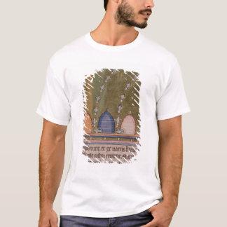 T-shirt Lignes incurvées du bestiaire trois