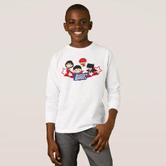 T-shirt Ligue de justice de Chibi des étoiles de
