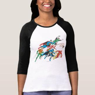T-shirt Ligue de justice du groupe 5 de l'Amérique