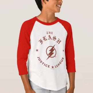 T-shirt Ligue de justice | le rétro emblème instantané de
