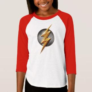 T-shirt Ligue de justice | le symbole métallique