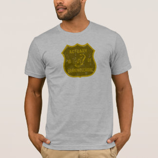 T-shirt Ligue potable d'actuaire