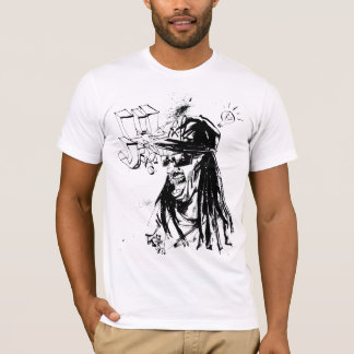 "T-shirt Lil Jon ""collaboration par JIM Mahfood et Lil Jon"