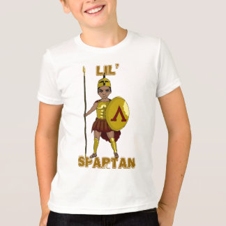 T-shirt Lil spartiate