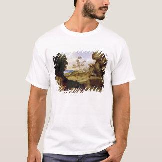 T-shirt L'IL Tramonto (le coucher du soleil) (huile sur la