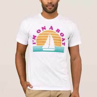 T-shirt L'île isolée sur un bateau