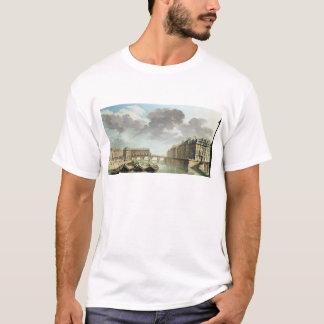 T-shirt L'Ile St Louis et le Pont Marie en 1757