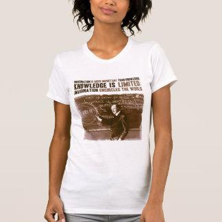 T-shirt L'imagination est plus importante que la