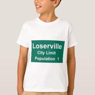 T-shirt Limite de ville de Loserville