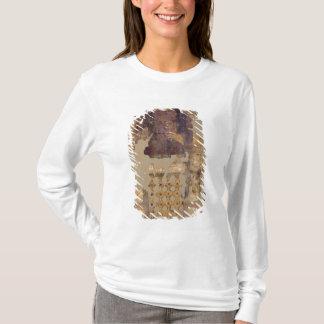 T-shirt Linceul dépeignant une femme tenant un ankh