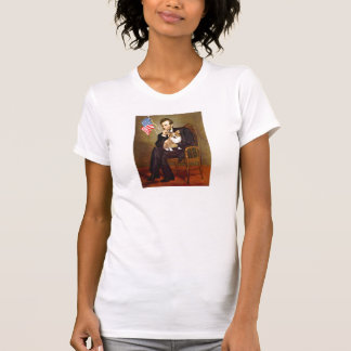 T-shirt Lincoln - corgi 1 de Gallois de Pembroke