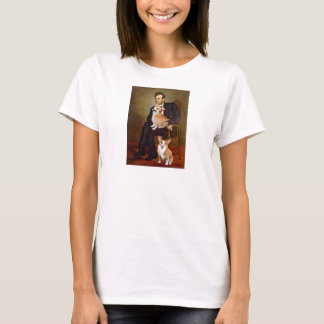 T-shirt Lincoln - Corgis de Gallois de Pembroke (deux)