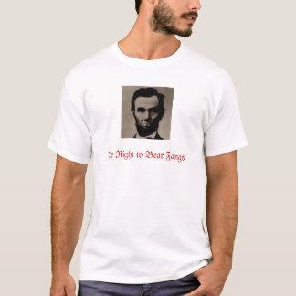 T-shirt Lincoln la droite de soutenir des crocs