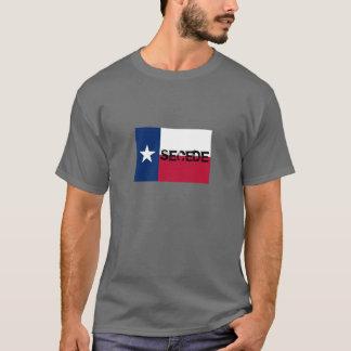T-shirt L'indépendance du Texas - drapeau de Conrad