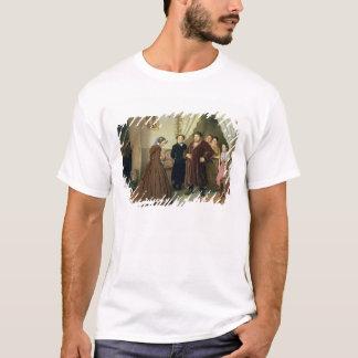 T-shirt L'institutrice arrivant à la Chambre du négociant