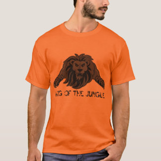 T-shirt lion-chemise, ROI OF THE JUNGLE