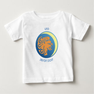 T-shirt Lion de bébé de signe d'étoile