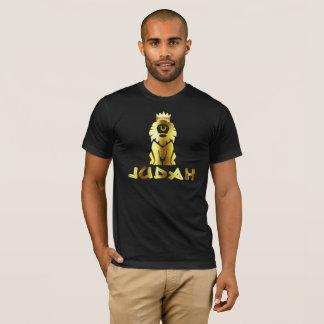 T-shirt Lion de Judah d'or