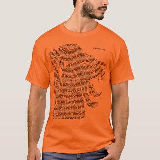 T-shirt Lion de Judah et de lumière de Samak