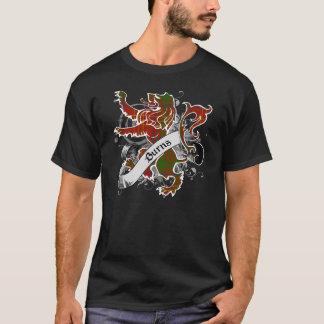 T-shirt Lion de tartan de brûlures