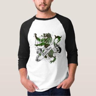 T-shirt Lion de tartan de MacKay