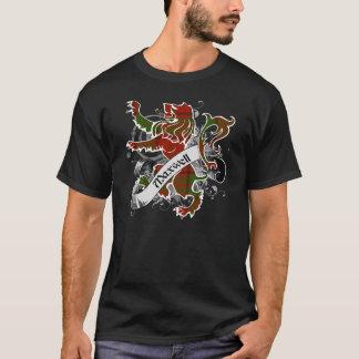 T-shirt Lion de tartan de Maxwell