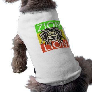 T-SHIRT LION DE ZION