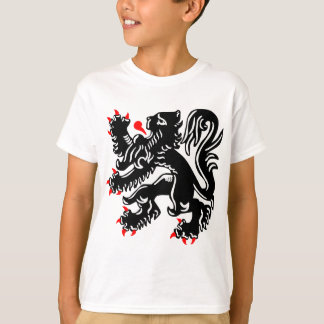 T-shirt Lion flamand