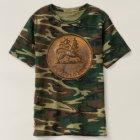 T-shirt Lion of Judah - Rasta Jah Army - reggae Shirt
